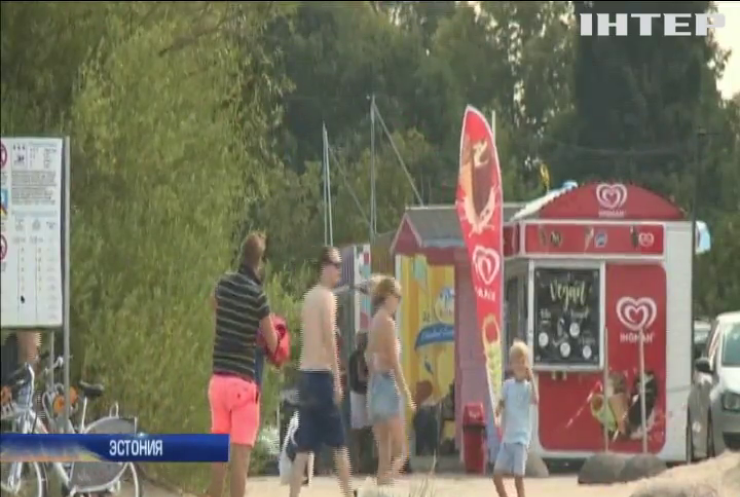 Аномальная жара накрыла Европу
