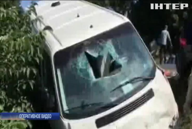 В масштабном ДТП на Закарпатье пострадали 4 человека