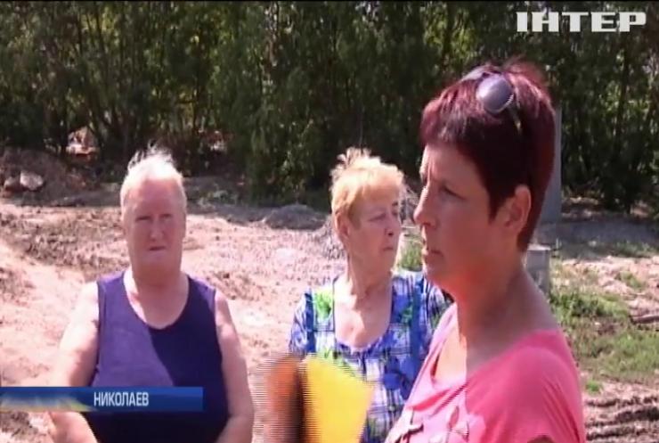 Почему жители Николаева протестуют против строительства канализации?