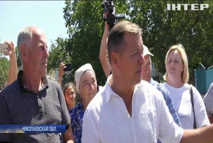 """Лидер """"Радикальной партии"""" пообещал отремонтировать дорогу Кривой Рог - Николаев"""