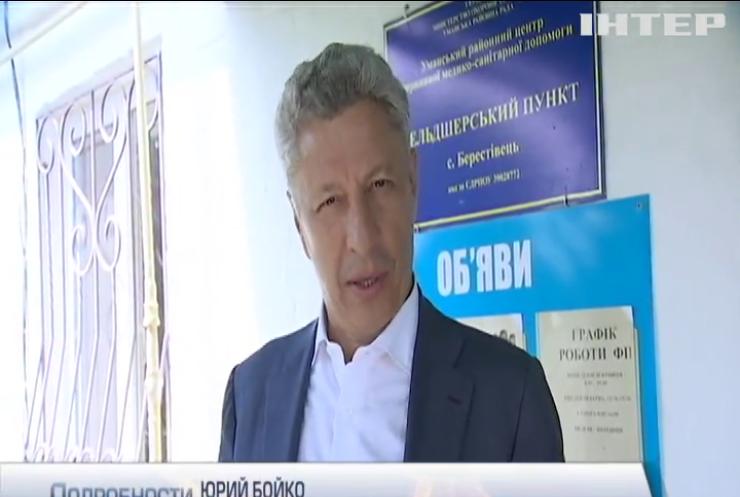 Медреформа в Украине является геноцидом против народа - Юрий Бойко