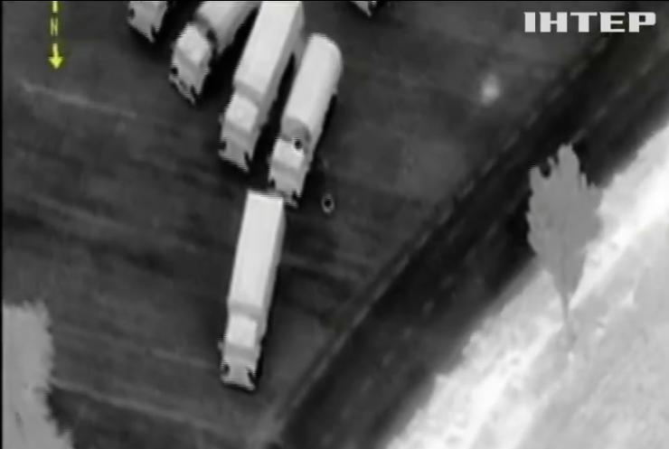 Наблюдатели ОБСЕ зафиксировали российский конвой на Донбассе (видео)