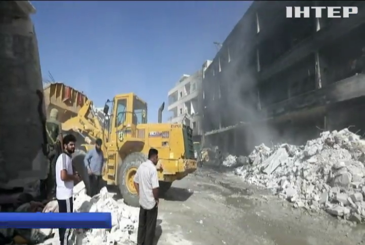 Взрыв в Сирии: десятки погибших и раненых