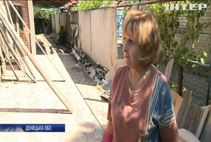 Війна на Донбасі: Мар'їнка потрапила під обстріл бойовиків
