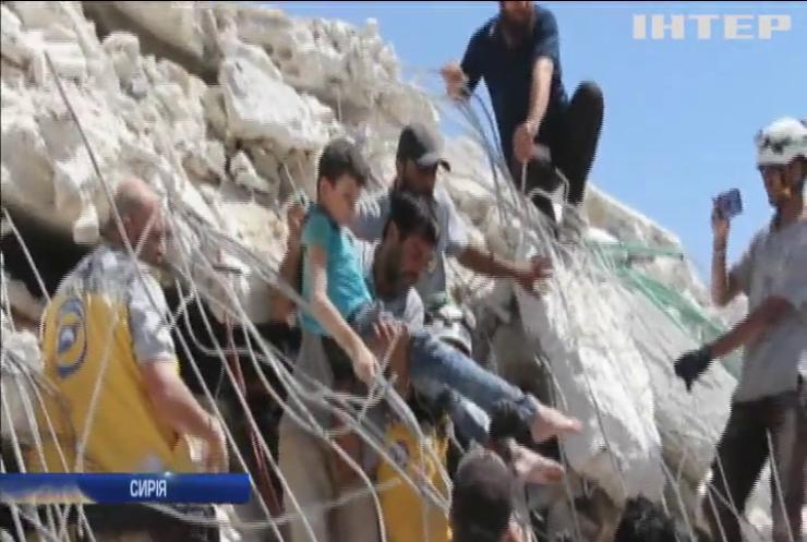 У Сирії вибухнув житловий будинок