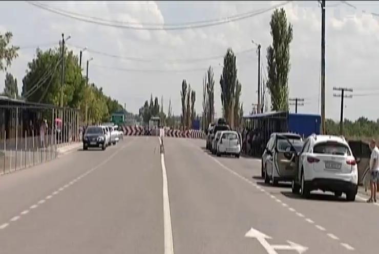 На адмінкордоні з Кримом не працювали пропускні пункти