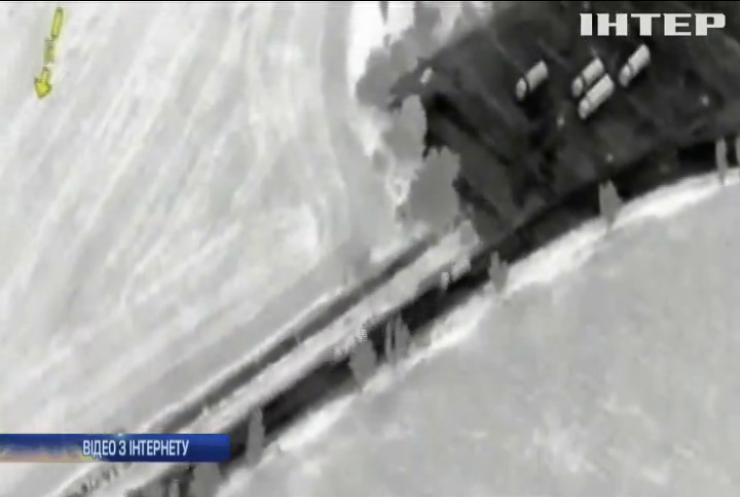 Місія ОБСЄ показала перехід російським конвоєм кордону України