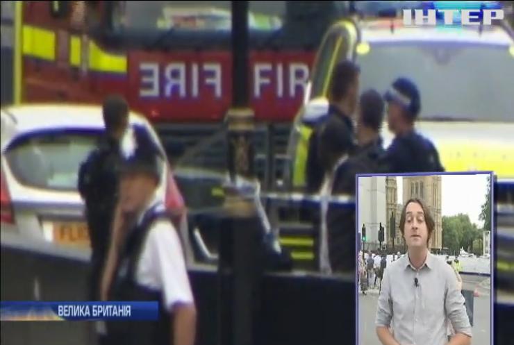 Теракт у центрі Лондона: легковик влетів у перехожих