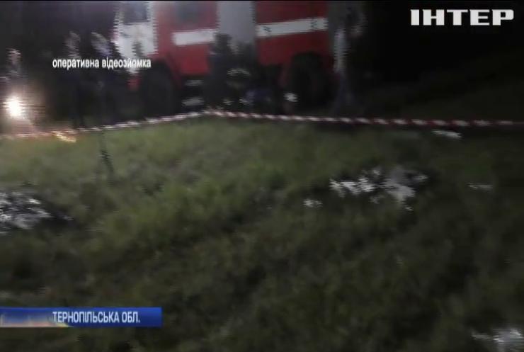На Тернопільщині впав дельтаплан, пілот загинув