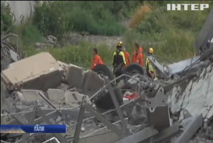 В Генуї обвалився автомобільний міст, загинули 22 особи