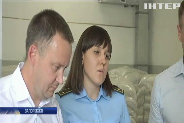 На Запоріжжі митники виявили кілька тонн бурштину