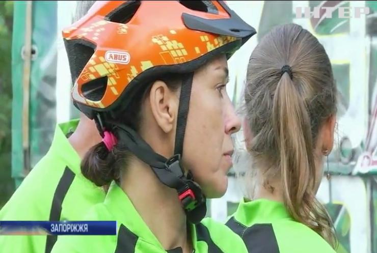 В Україні стартував велопробіг для незрячих