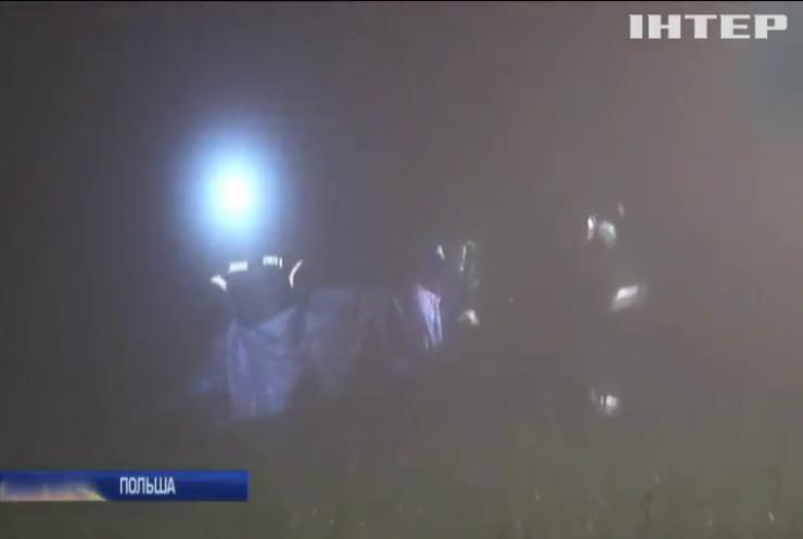 ДТП в Польше: пострадали украинские туристы