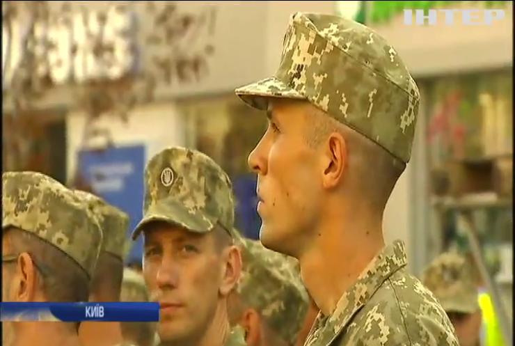 У Києві відбулася репетиція параду до Дня незалежності України