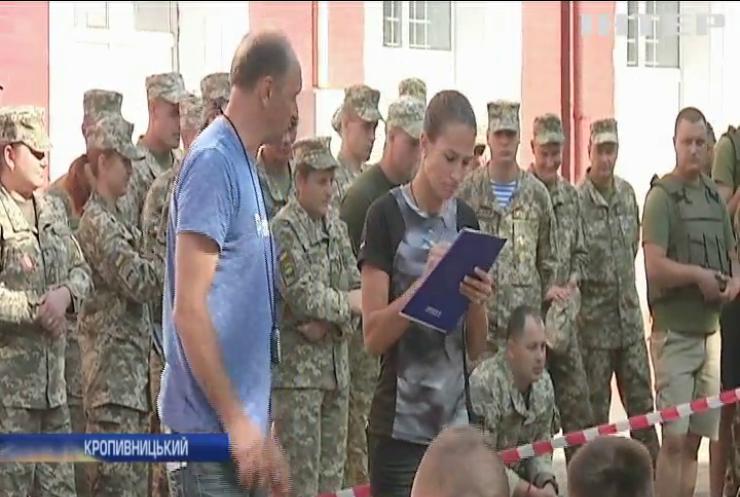 У Кропивницькому відбулися закриті змагання з кросфіту для військовослужбовців