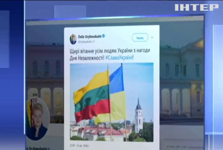Мировые лидеры поздравляют украинцев с Днем независимости