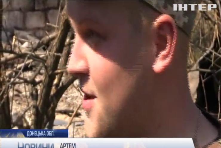 У районі Світлодарської дуги бойовики активно застосовують важку артилерію