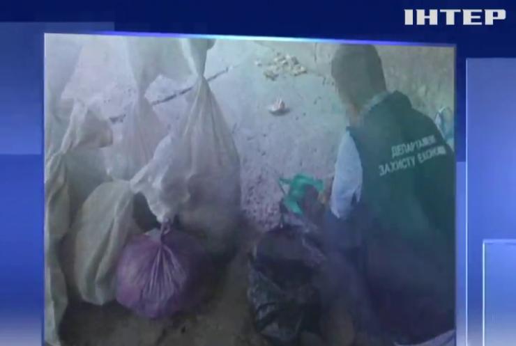 На Рівненщині поліція виявила 200 кг бурштину