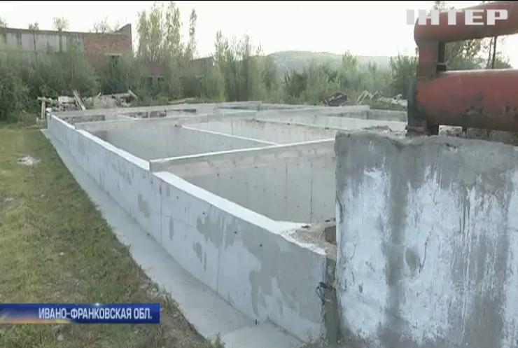 В Ивано-Франковской области заморозили все строительные и ремонтные работы