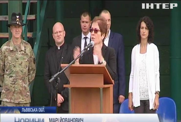 На Львівщині стартували військові міжнародні навчання Rapid Trident-2018