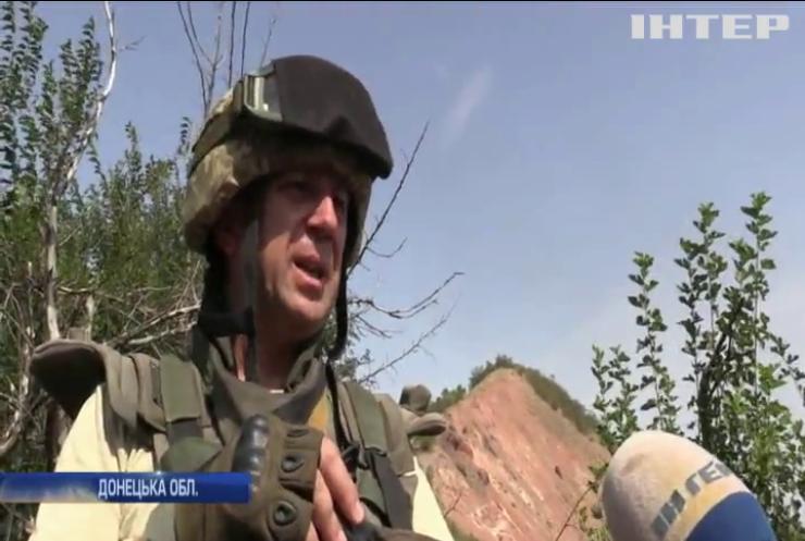 На Донбасі бойовики поранили четверо українських військових