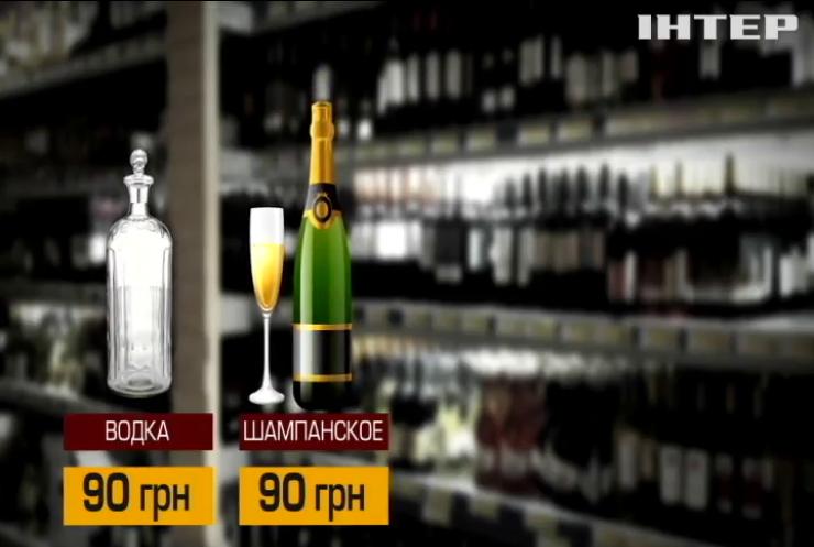 Кабмин решил повысить цены на спирт