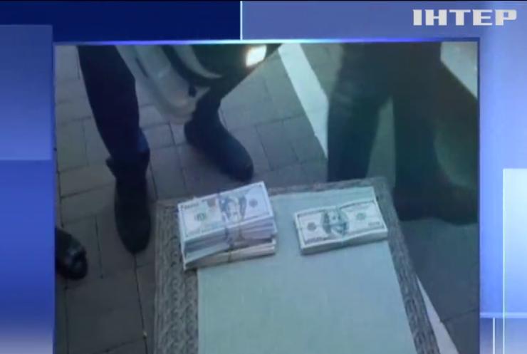 Високопосадовця затримали на хабарі у два мільйони гривень