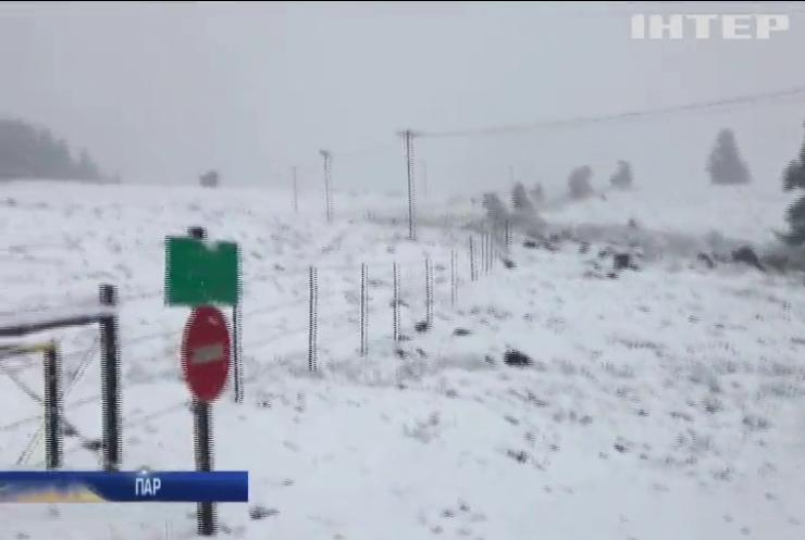 У Південно-Африканській республіці випав сніг