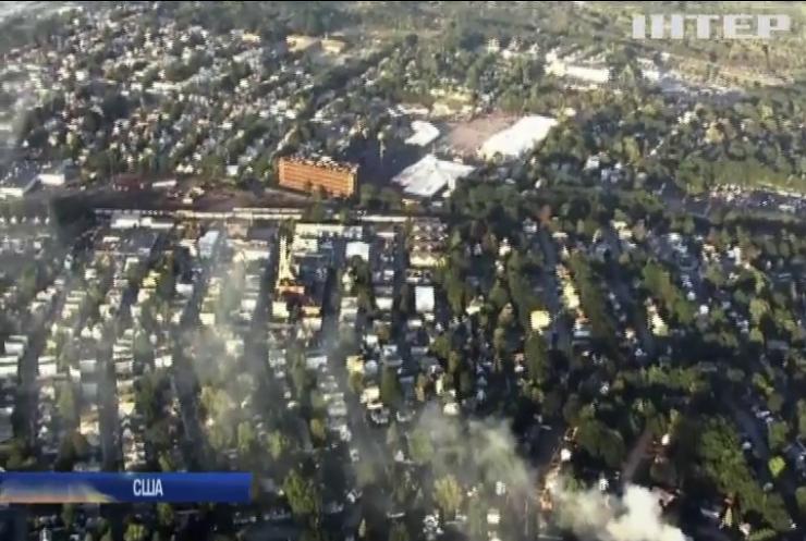 У США вибухнув міський газопровід