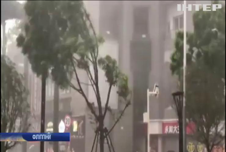 """У південно-східній Азії вирує тайфун """"Мангхут"""""""