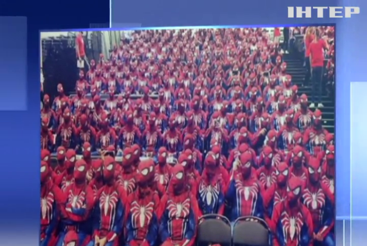 """Фанати """"людини-павука"""" встановили світовий рекорд"""