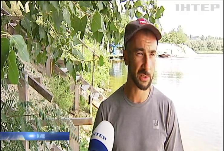 Українець подолав відстань із Києва до Одеси надувним сапбордом