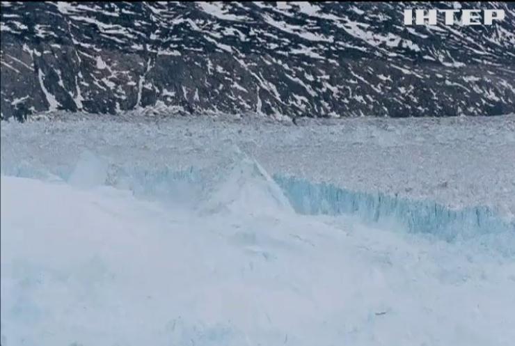 У Гренландії від льодовика Гельгейм відколовся велетенський айсберг