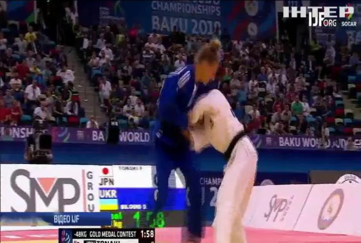 На чемпіонаті світу з дзюдо перемогла 17-річна киянка