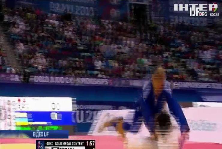 Спортивний рекорд: киянка стала наймолодшою чемпіонкою світу з дзюдо