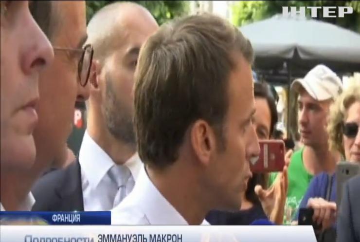 Бывший начальник охраны Эммануэля Макрона отрекся от президента