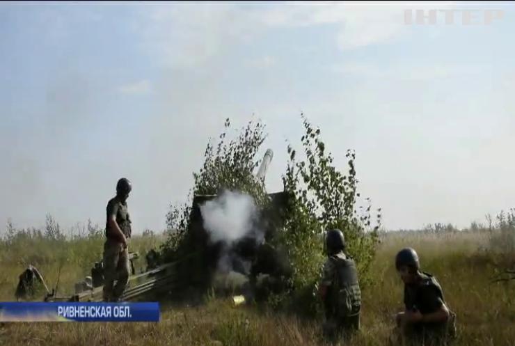 По стандартам НАТО: в Ривне провели масштабные военные учения