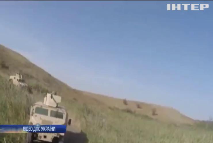 Українські прикордонники провели військові навчання