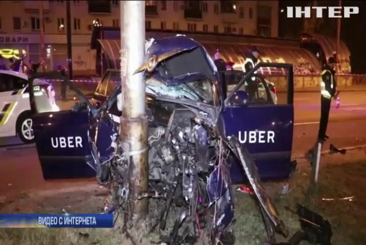 В Киеве пьяный водитель такси Uber  отправил пассажира в реанимацию