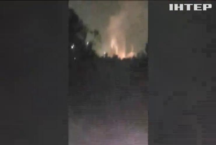 У Боснії вибухнув нафтопереробний завод