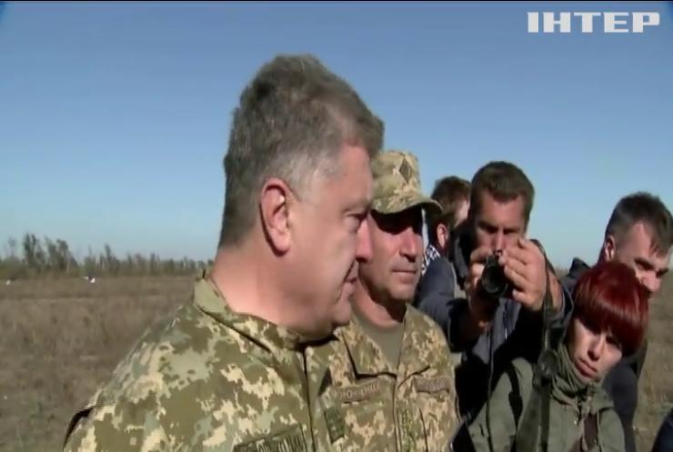 ВМС продемонстрували готовність боронити Україну - Порошенко
