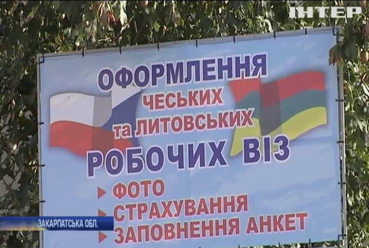 Українці масово їдуть працювати за кордон