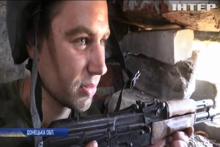 На Донбасі бойовики ведуть прицільний вогонь на маріупольському напрямку