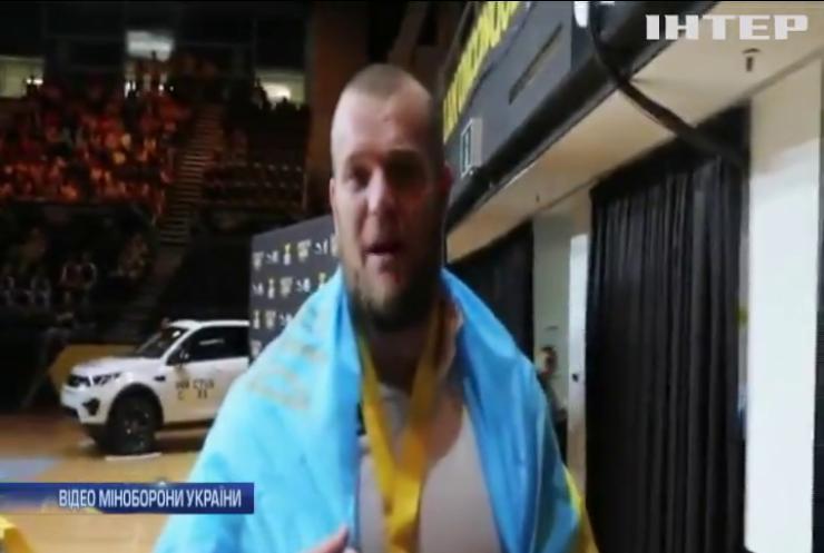 """На """"Іграх Нескорених"""" українці здобули перші золоті медалі"""