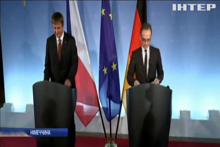 """Німеччина закликає США та Росію зупинити """"гонку озброєнь"""""""