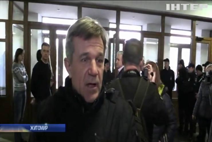 Невдала провокація: ветерани АТО запобігли зриву засідання Житомирської облдержадміністрації