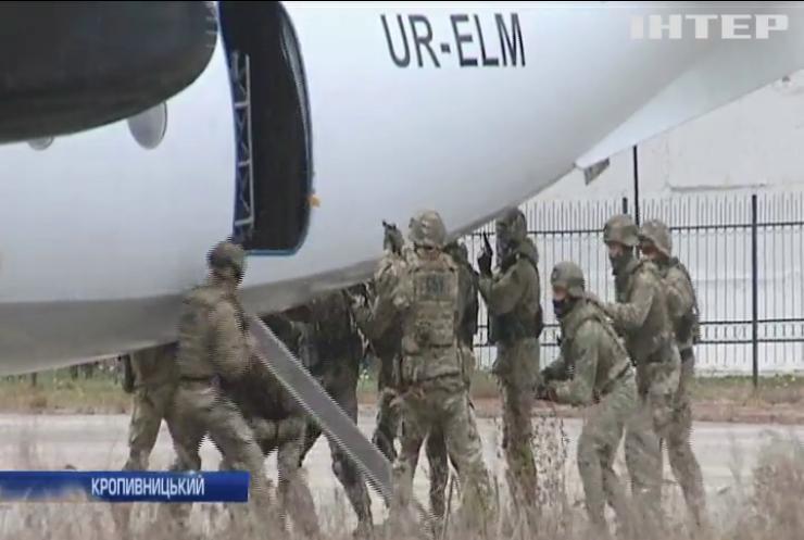 У Кропивницькому проходять масштабні антитерористичні навчання
