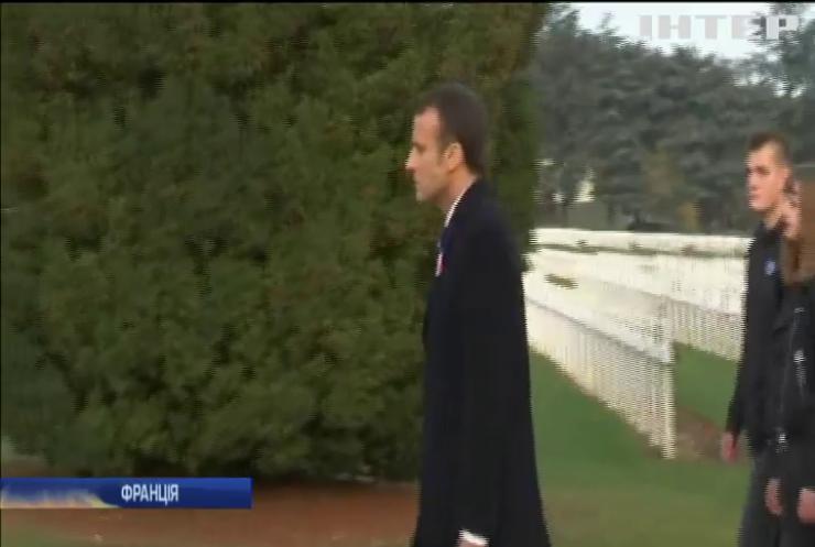 У Франції попередили замах на президента Макрона
