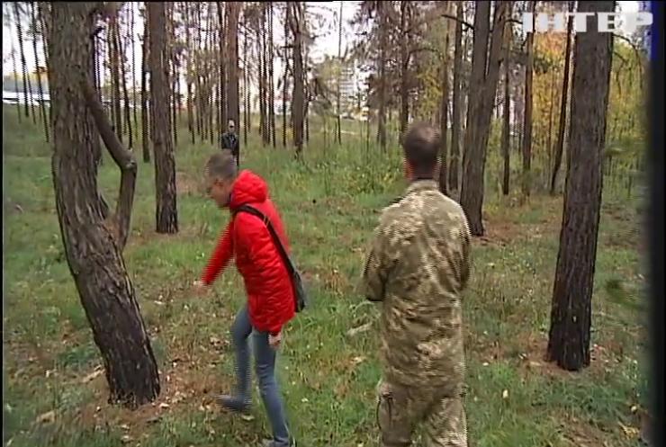 """Поблизу метро """"Лісова"""" винищили дерева"""