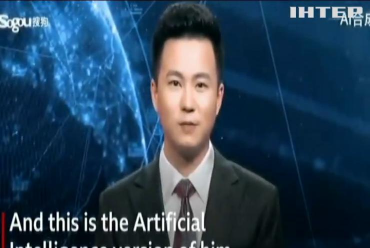 На китайському телебаченні працюють віртуальні телеведучі